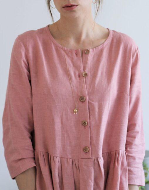 sukienka brudny roz3